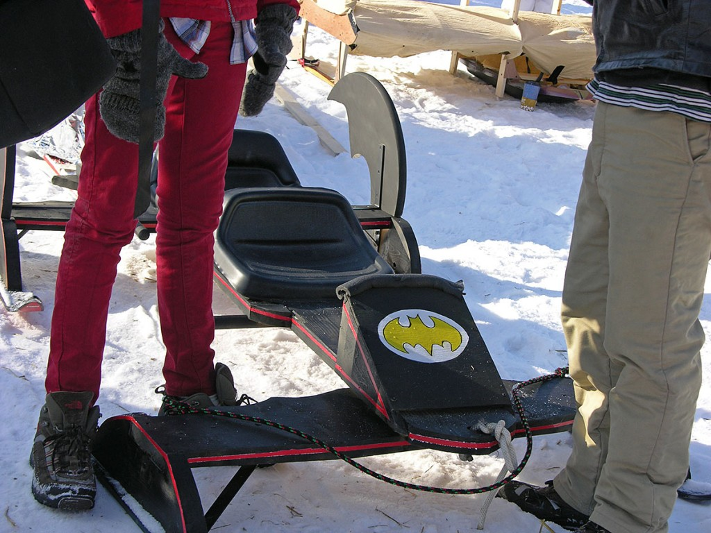the bat-sled